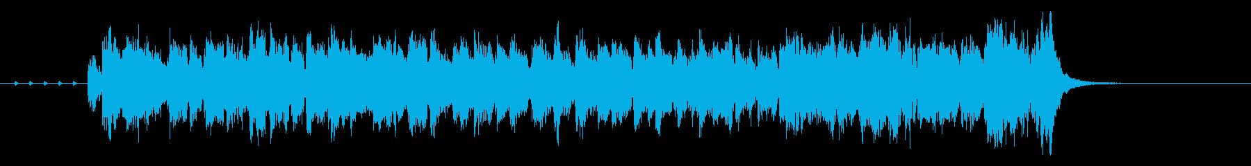 イカすブラスセクションのラテンジングルの再生済みの波形