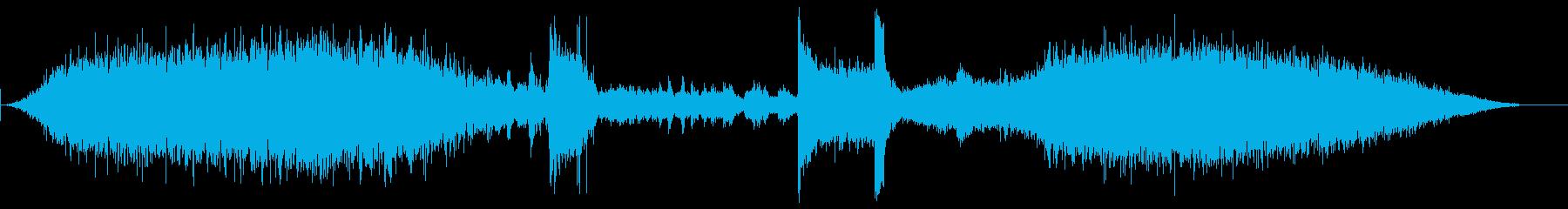 メトロプラットフォーム2の再生済みの波形