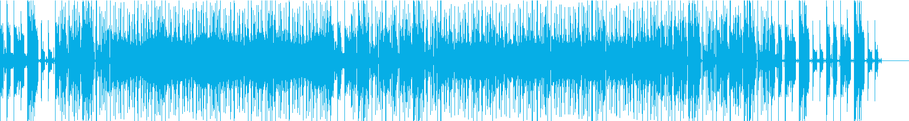 印象的なギターが特徴のHIPHOPの再生済みの波形