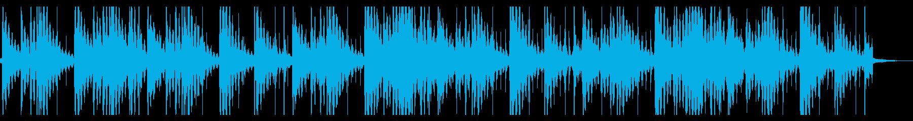 寂しいローファイヒップホップ_391_2の再生済みの波形