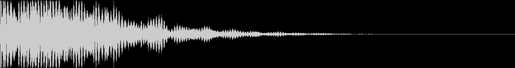 カンカコンカコン(怪しい・不思議・妖)の未再生の波形