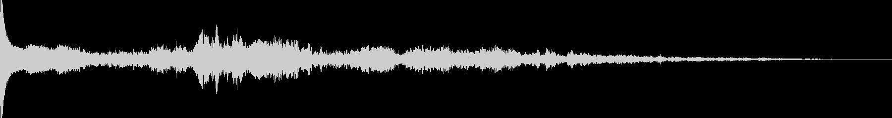 不思議な音の未再生の波形