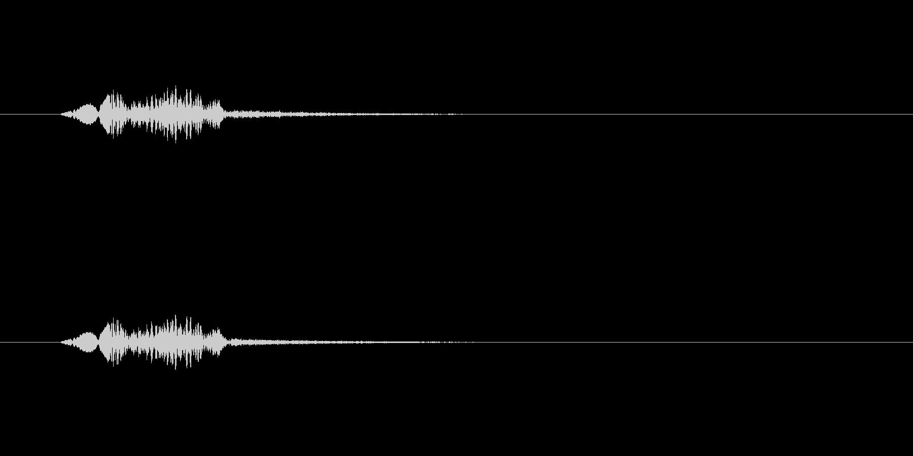 【サイバー16-1】の未再生の波形