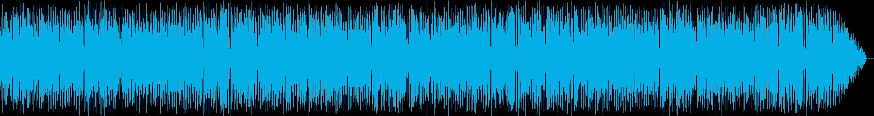楽しい感じのスイングの再生済みの波形