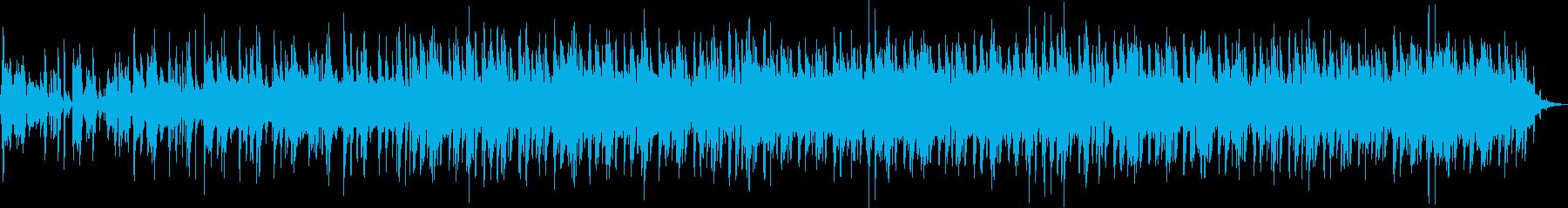 ゆるいアコギ、ラテンジャズの再生済みの波形