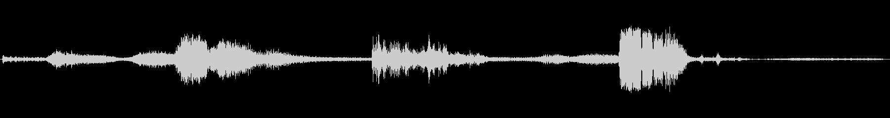 ポルシェ928:スタート、レブアン...の未再生の波形
