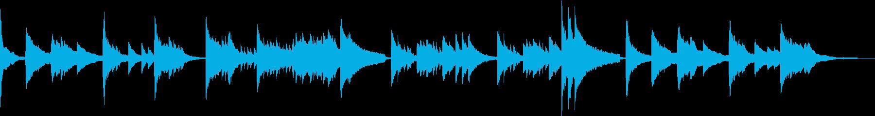 テクスチャー 幻想的・儚いピアノソロの再生済みの波形