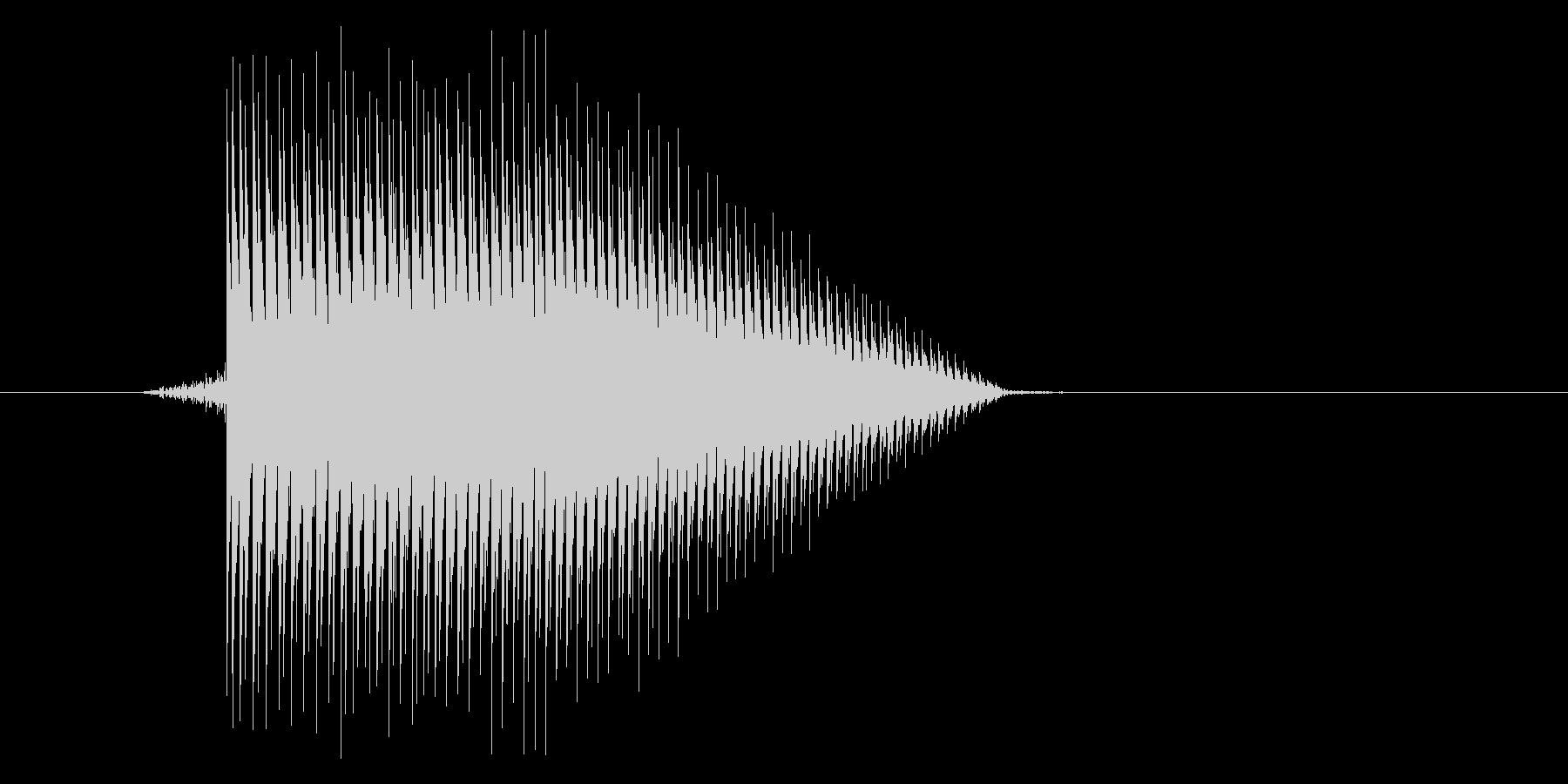 ゲーム(ファミコン風)ジャンプ音_021の未再生の波形