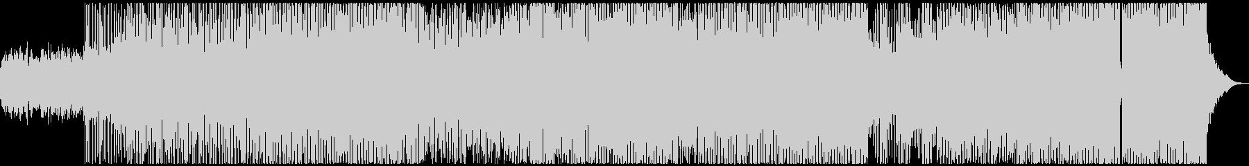クールでダークな雰囲気のEDMの未再生の波形