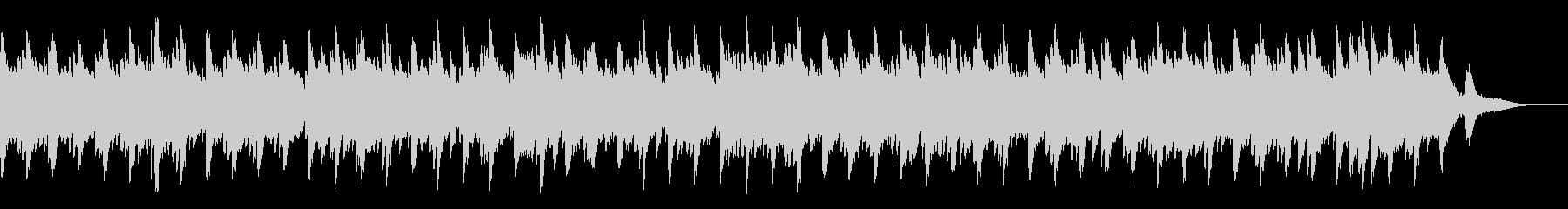 ゆったりとしたピアノソロ曲(6/8拍子)の未再生の波形