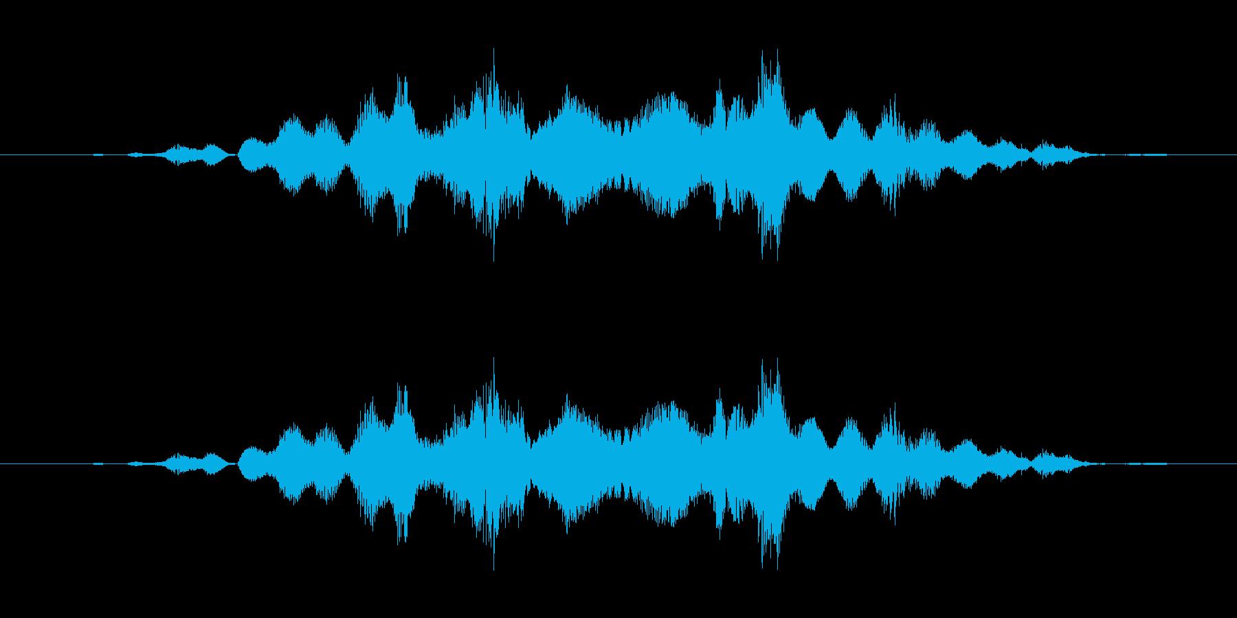 特撮 クレイジー02を確認の再生済みの波形