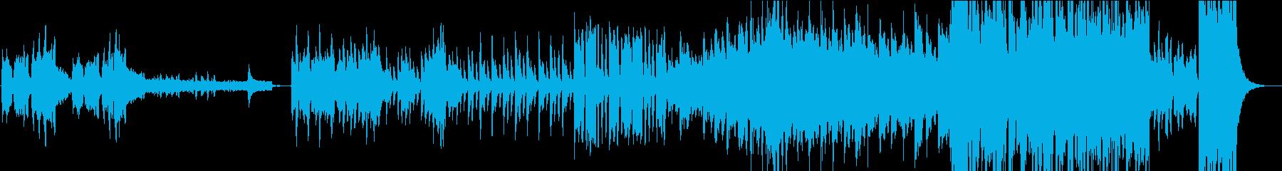 不思議なワルツの再生済みの波形