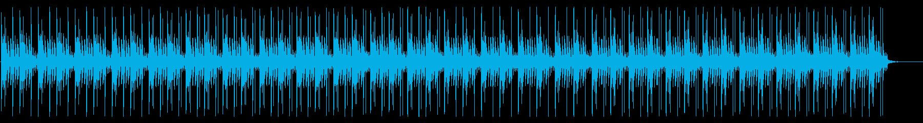 ゆったりしたピアノが心地よいチルアウトの再生済みの波形
