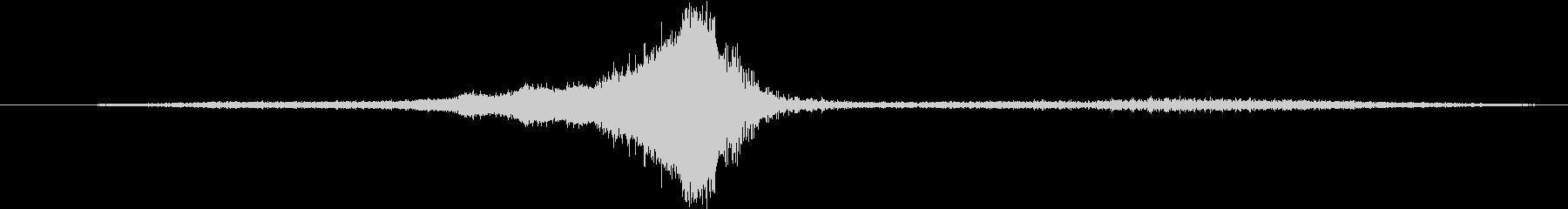 空母:ファンテールプラウラージェッ...の未再生の波形