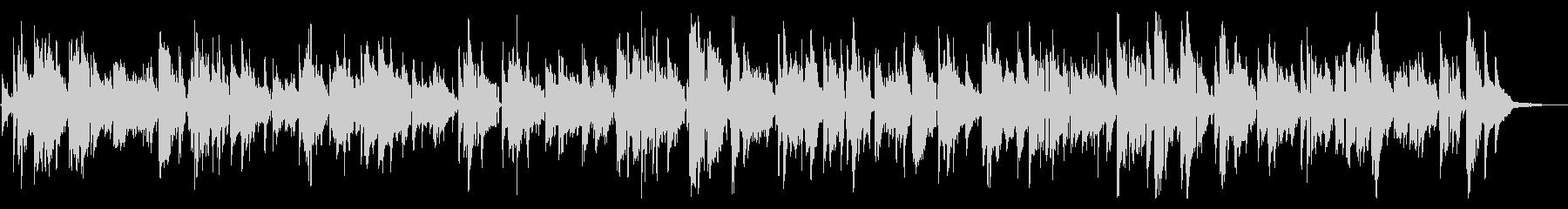 ムードのあるラウンジのサックスジャズの未再生の波形