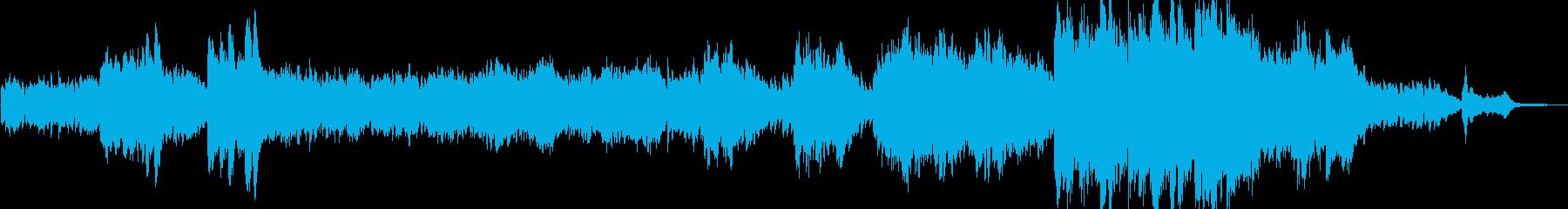 神秘の森をイメージしたヒーリング Cの再生済みの波形