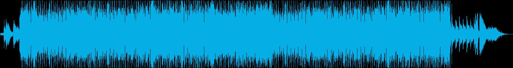 アンニュイな雰囲気のフレンチボサの再生済みの波形
