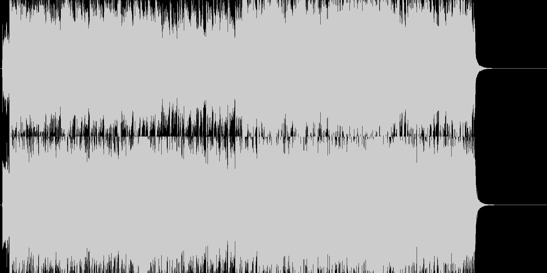 【生演奏】春畑道哉的ギターインストの未再生の波形