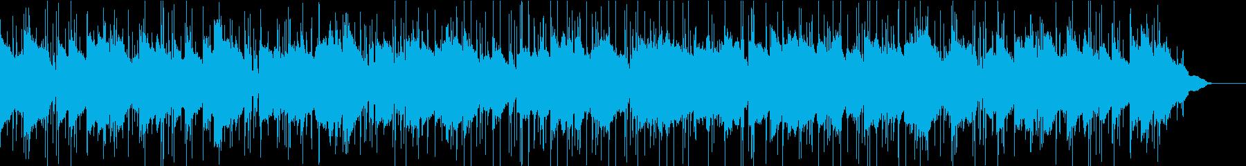 R&B風のおしゃれで渋いスムースジャズの再生済みの波形