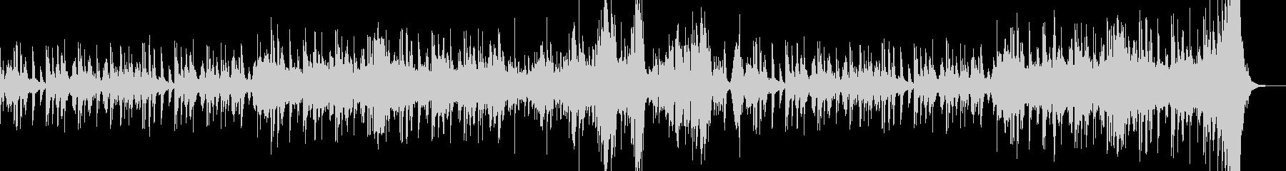 低音ストリングスによる闘いのメロディーの未再生の波形