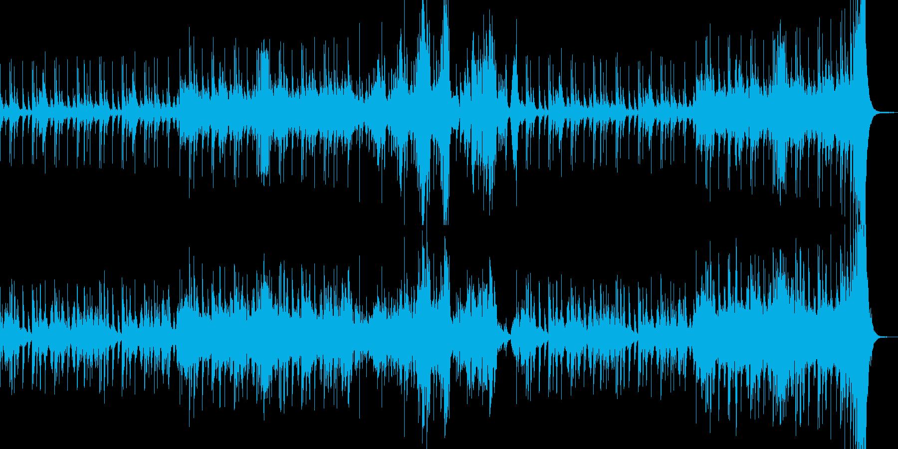 低音ストリングスによる闘いのメロディーの再生済みの波形