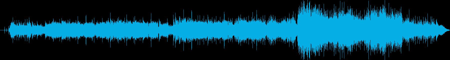 中国楽器をいろいろ使った中国風幻想曲の再生済みの波形