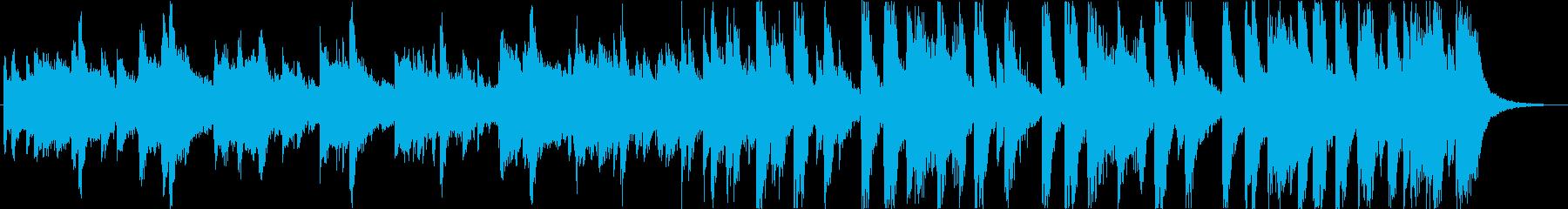 Cute retro nimble electro pop c's reproduced waveform