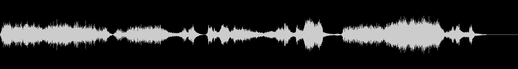 エイリアン通信タイムワープの未再生の波形