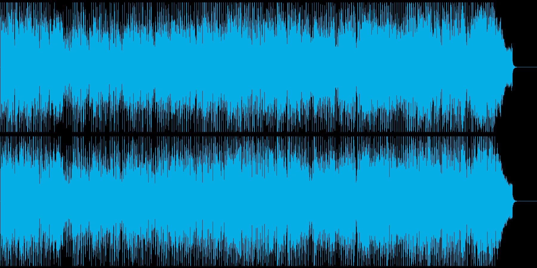 楽しいディスコ風味ジャズ!サックス生演奏の再生済みの波形