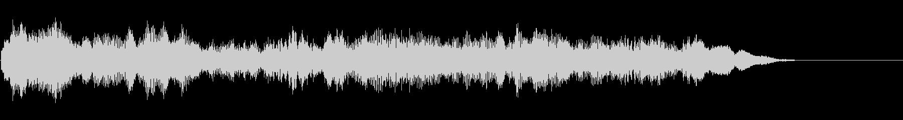 ファニーな打楽器系アイキャッチの未再生の波形