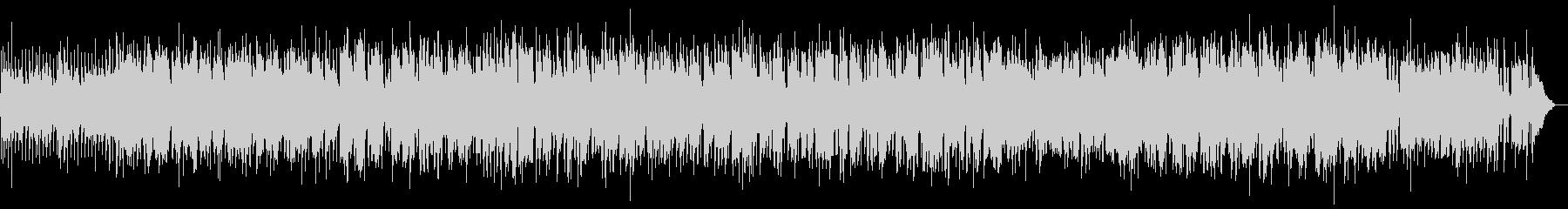 昭和歌謡ポップスジャジーブルースエレジーの未再生の波形