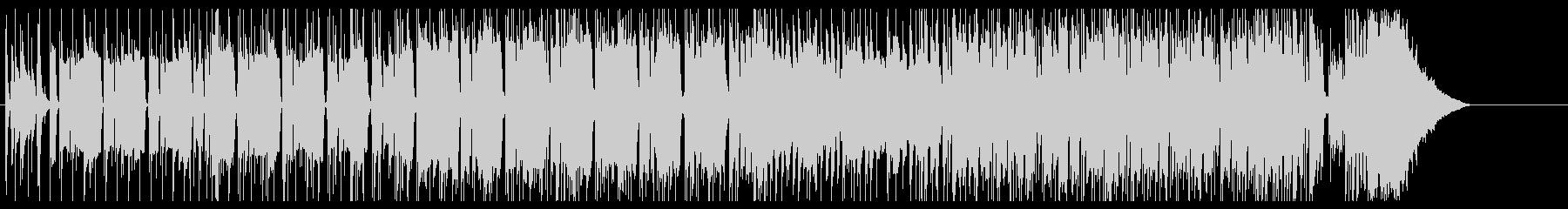 16ビートシャッフルのファンキーインストの未再生の波形