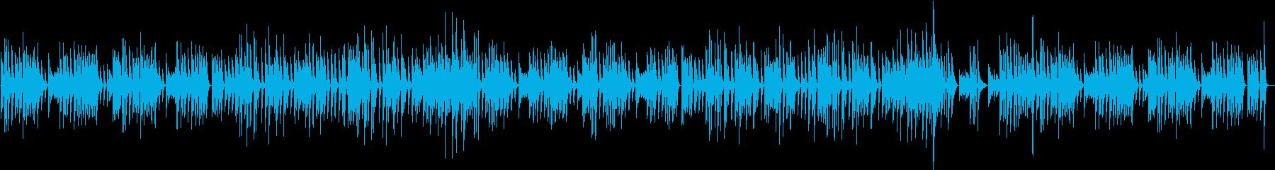 料理動画に♪穏やかで優しいピアノBGMの再生済みの波形