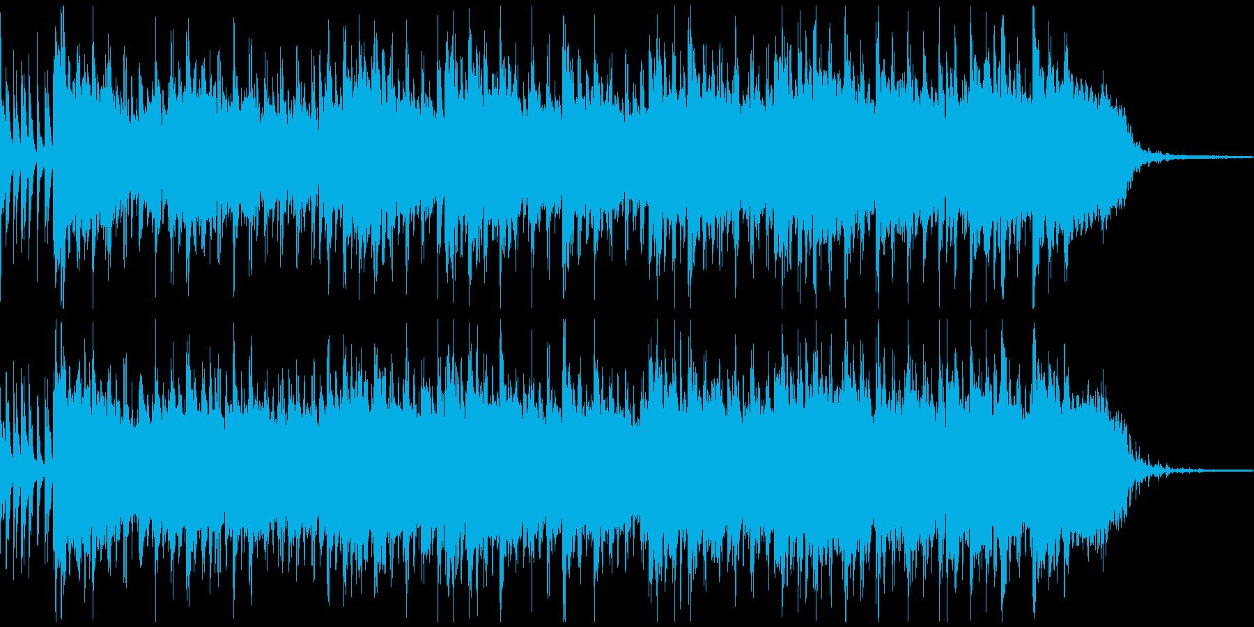 軽快でおしゃれな雰囲気のラウンジジャズの再生済みの波形