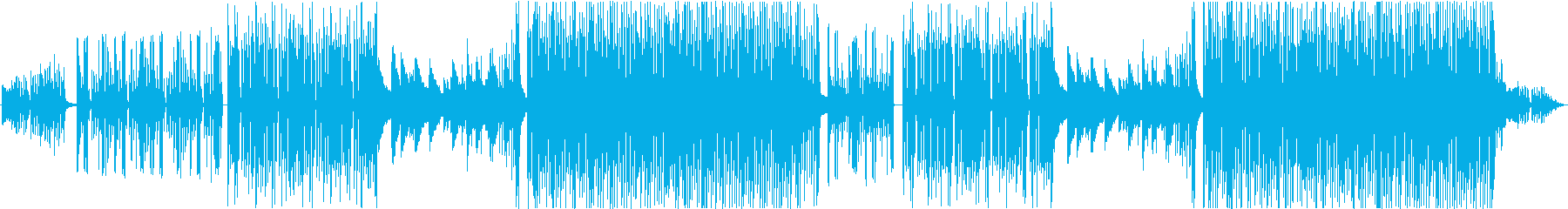 不思議な雰囲気の3拍子っぽい4拍子R&Bの再生済みの波形
