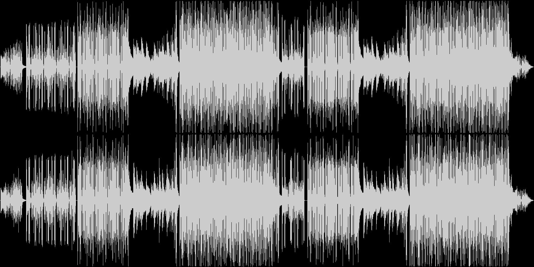 不思議な雰囲気の3拍子っぽい4拍子R&Bの未再生の波形