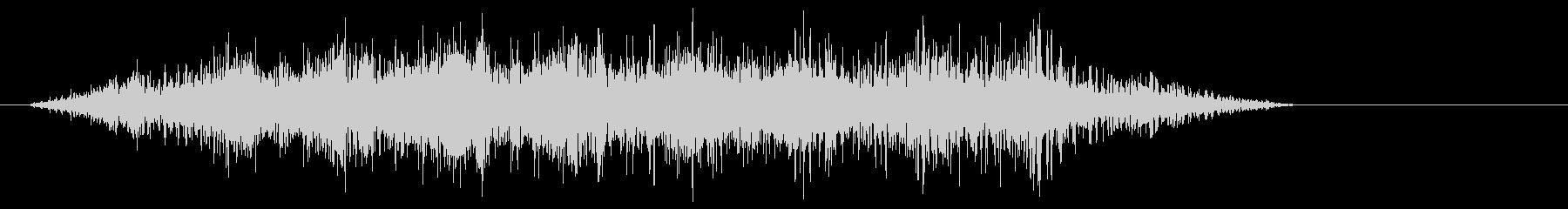 変調フィルターピッチによるスライドフライの未再生の波形