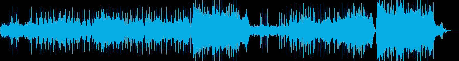 """""""""""和""""""""の音階が印象的なヒーリングの再生済みの波形"""