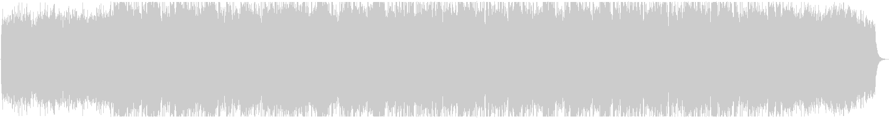 BGM of the melody which spreads's unreproduced waveform