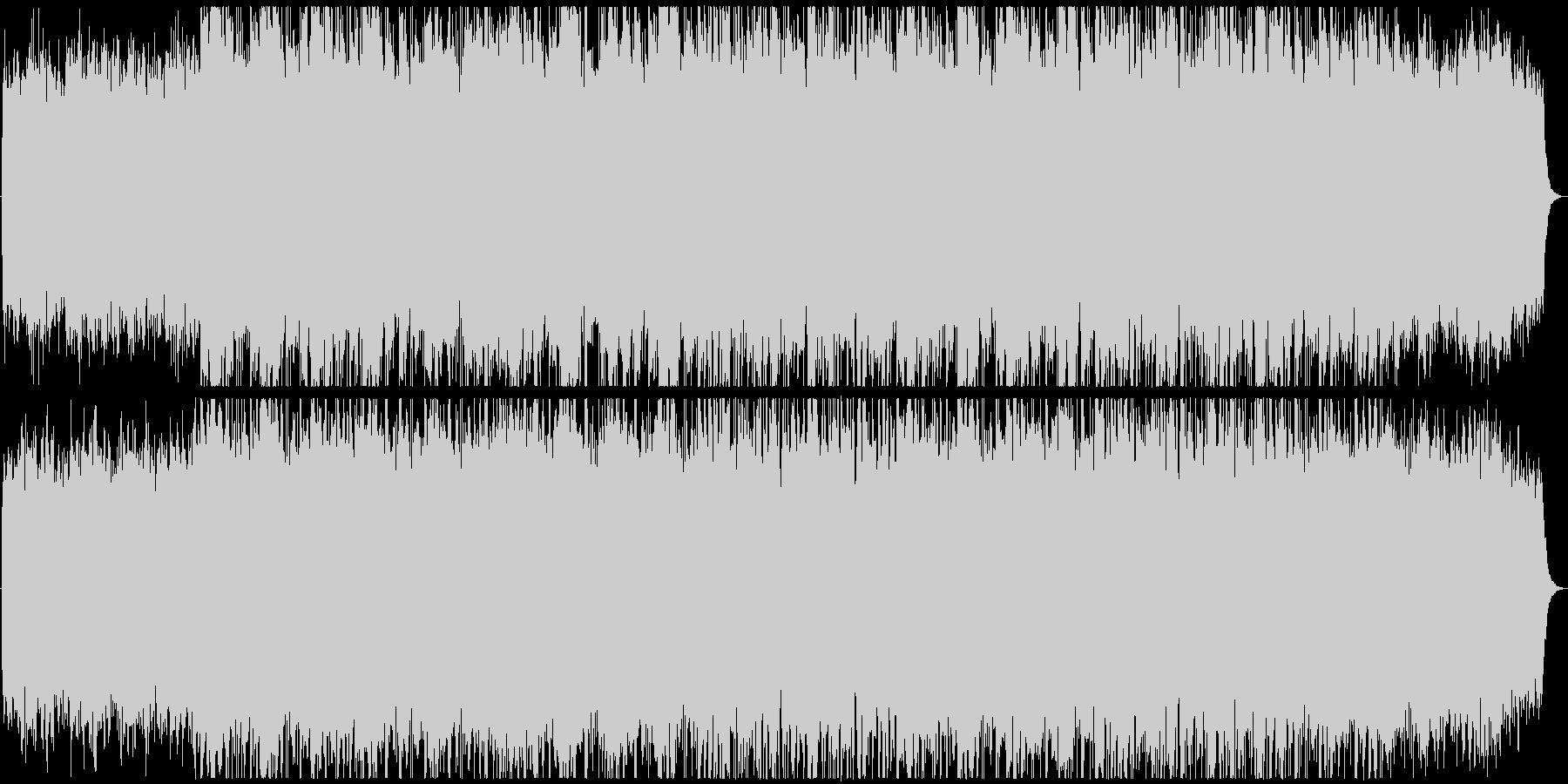広がりのあるメロディーのBGMの未再生の波形