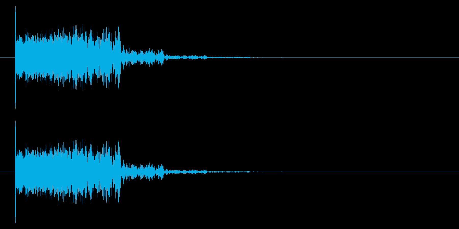 爆発/どーん/爆弾の再生済みの波形