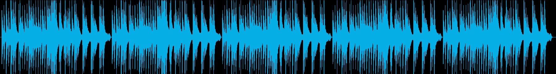 切なく優しいピアノの再生済みの波形