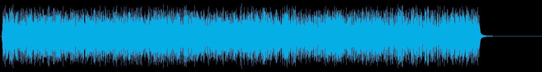 [生録音]ベルタイプの目覚まし時計01の再生済みの波形