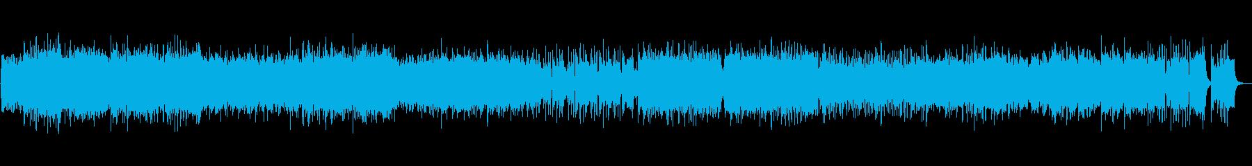 尺八と三味線がメインのフュージョンの再生済みの波形