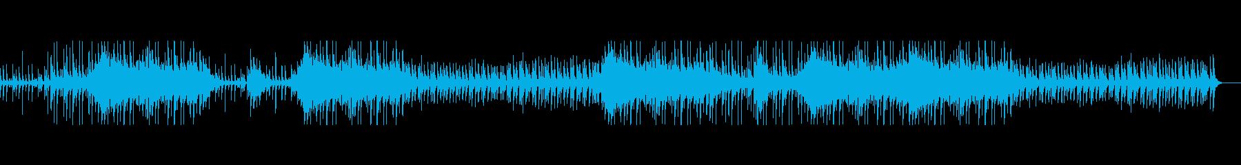 三味線のロックっぽい和風の曲 祭などの再生済みの波形