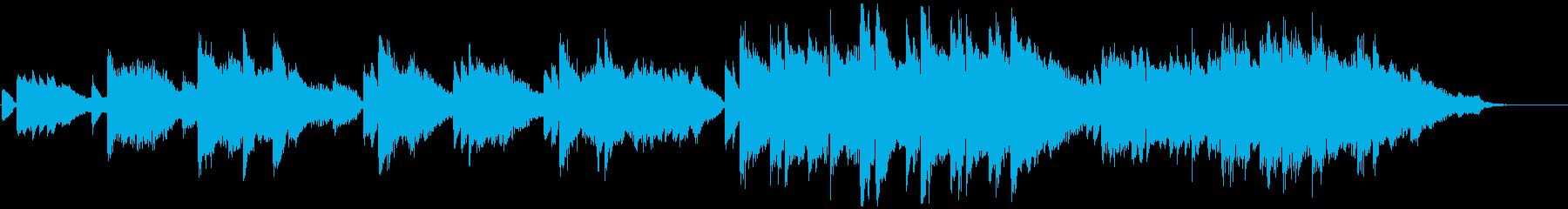 児童合唱とピアノによる卒業・別れのBGMの再生済みの波形