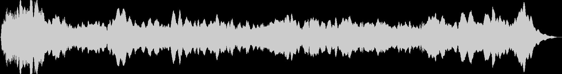 ドローン オルガン01の未再生の波形