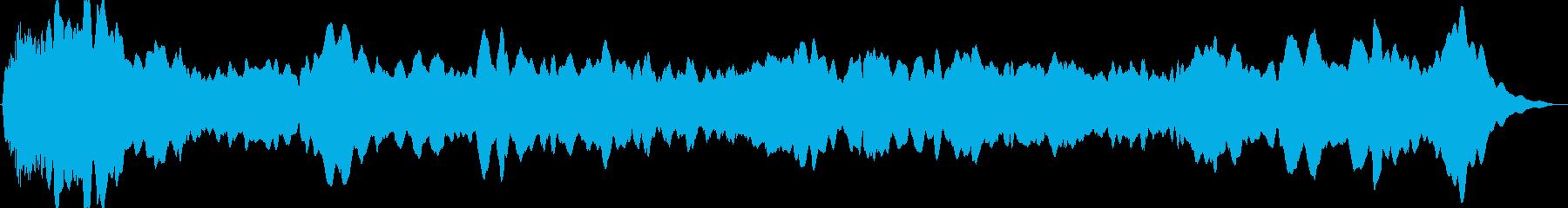 ドローン オルガン01の再生済みの波形