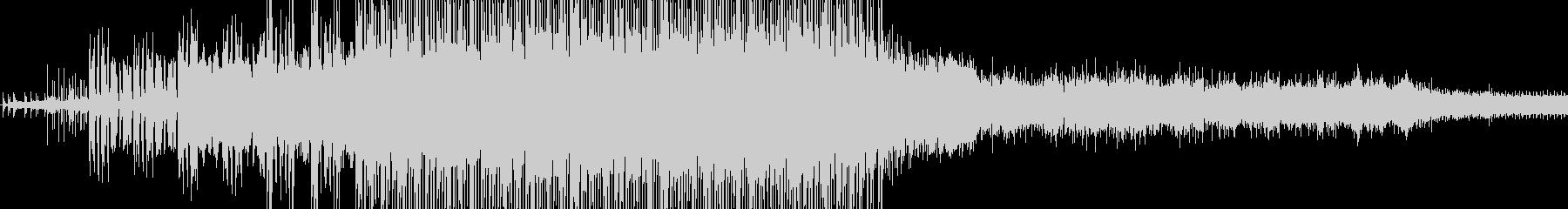 アンビエントミュージック 積極的 ...の未再生の波形