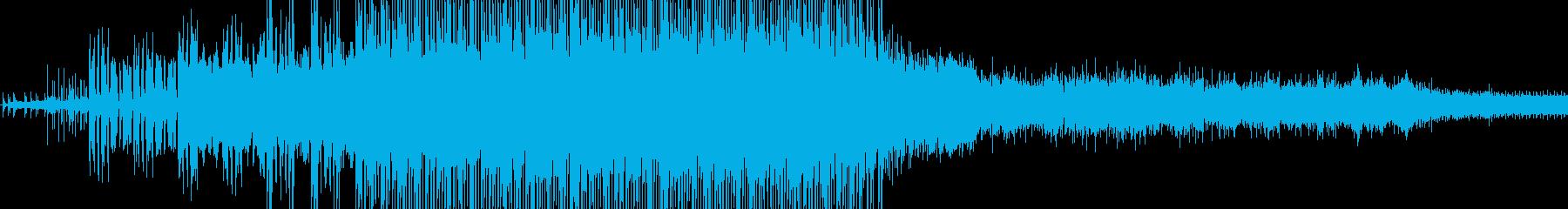 アンビエントミュージック 積極的 ...の再生済みの波形